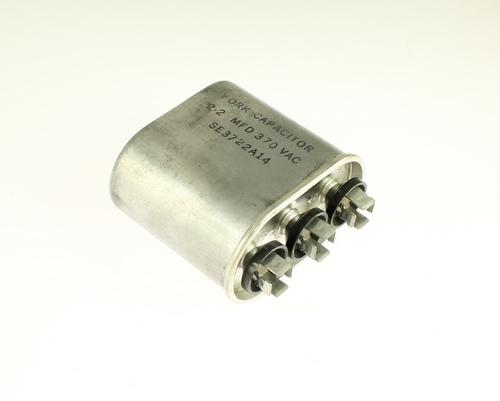 Picture of MRC225-370VAC-QT YORK capacitor 2.2uF 370V Application Motor Run