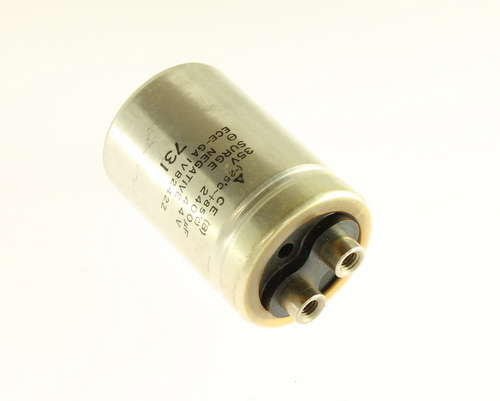 Picture of ECE-GA1VB242Z PANASONIC capacitor 2,400uF 35V Aluminum Electrolytic Large Can Computer Grade