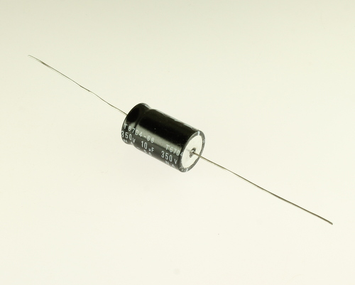 Picture of EA106M350V18X3085 UCC capacitor 10uF 350V Aluminum Electrolytic Axial