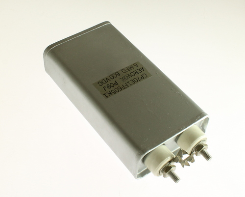 Picture of CP70E1FF605K1 AEROVOX capacitor 6uF 600V OIL HERMETICALLY SEALED Radial
