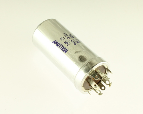 Picture of FP414.1 MALLORY capacitor 200uF 200V Aluminum Electrolytic Large Can Twist Lock