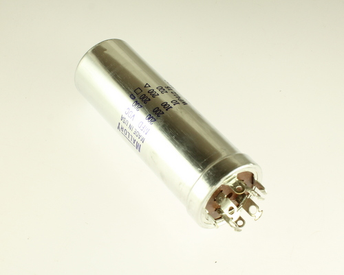 Picture of WP412.15 MALLORY capacitor 200uF 200V Aluminum Electrolytic Large Can Twist Lock