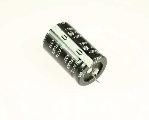 Picture of ECET2A102CA PANASONIC capacitor 1,000uF 100V Aluminum Electrolytic Snap In