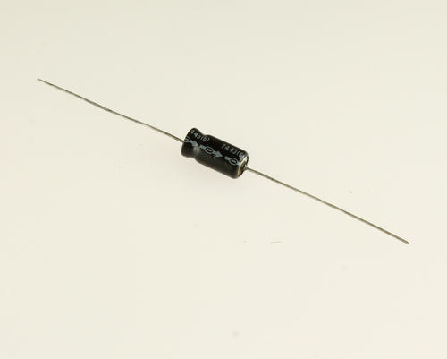 Picture of EA505M50V6X1385 UNITED CHEMICON capacitor 5uF 50V aluminum electrolytic axial