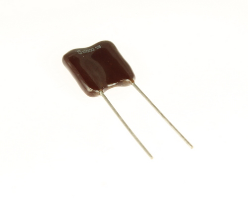 Picture of CD30FD103F03 Cornell Dubilier (CDE) capacitor 0.01uF 500V Silver Mica Dipped