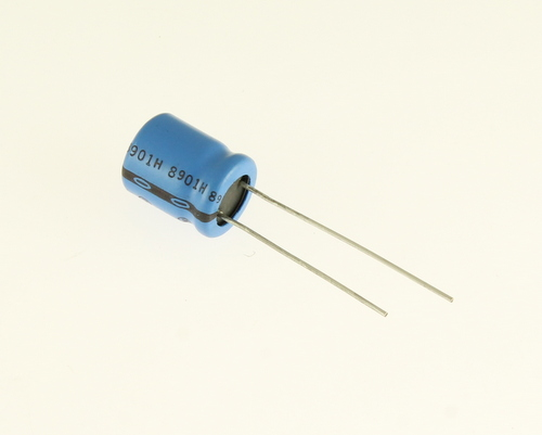 Picture of 511D227M016CC4D SPRAGUE capacitor 220uF 16V Aluminum Electrolytic Radial High Temp