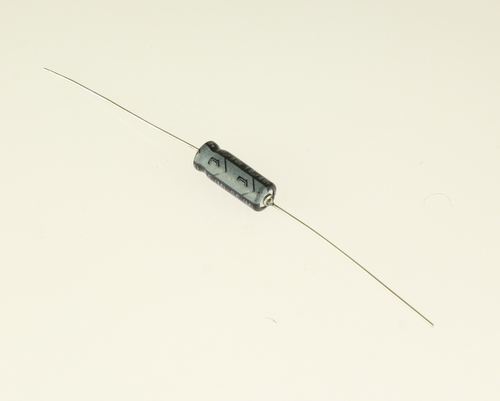 Picture of EA106M80V6X1685 NICHICON capacitor 10uF 80V Aluminum Electrolytic Axial