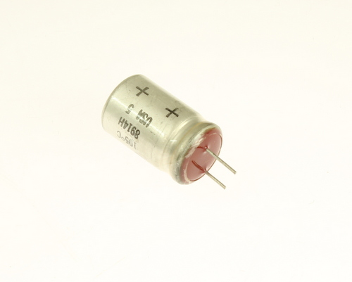 Picture of 672D107F060EK5C SPRAGUE capacitor 100uF 60V Aluminum Electrolytic Radial High Temp