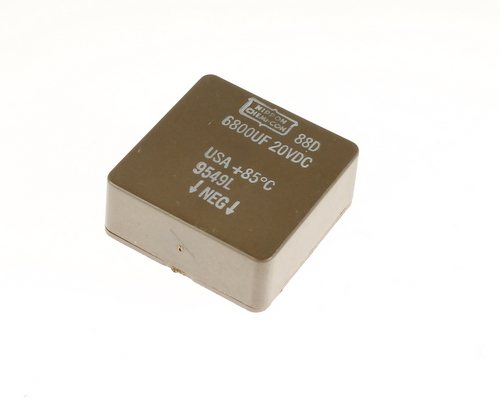 Picture of 88D682M020BA UCC capacitor 6,800uF 20V Aluminum Electrolytic Surface Mount