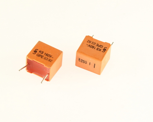 Picture of B31521-B1622-F SIEMENS capacitor 0.0062uF 160V Box Cap metallized polyester