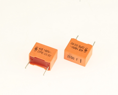 Picture of B31521-B1262-F900 SIEMENS capacitor 0.00269uF 160V Box Cap metallized polyester