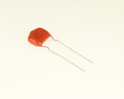 Picture of RM683K100V035CL INTERNATIONAL COMPONENTS CORP capacitor 0.068uF 100V Film Radial
