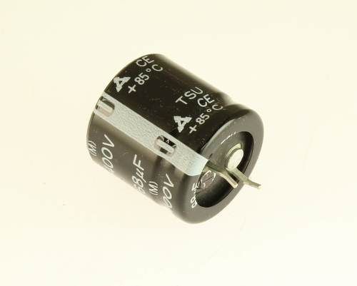 Picture of ECET2G681M PANASOINC capacitor 68uF 400V Aluminum Electrolytic Snap In