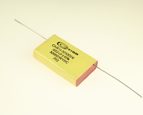 Picture of CMR1A303202K CUSTOM capacitor 0.002uF 30000V Film Polyester Axial