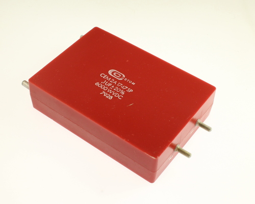 Picture of CEM2A1747SP CUSTOM capacitor 0.1uF 6000V Film Polyester Axial