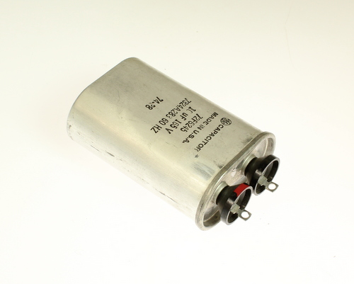 Picture of 72F6245 GENERAL ELECTRIC capacitor 10uF 165V Application Motor Run