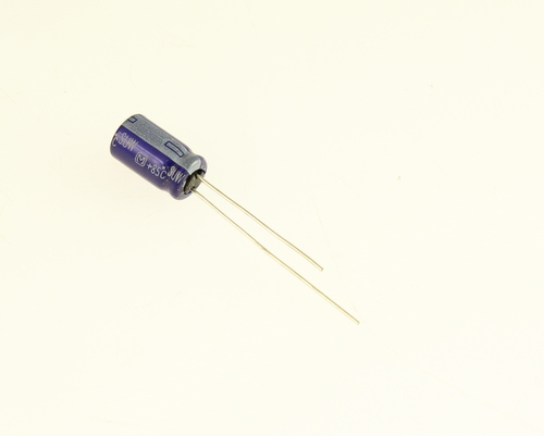 Picture of ER335M160V6X1185 PANASONIC capacitor 3.3uF 160V Aluminum Electrolytic Radial