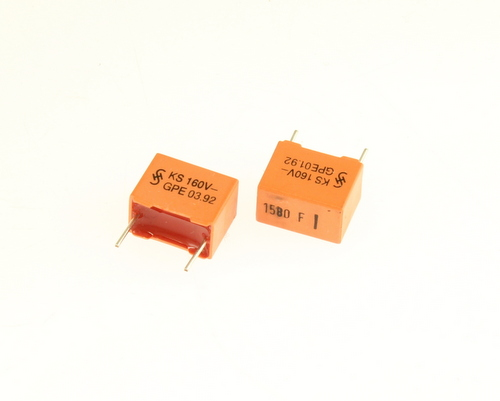 Picture of B31521-B1152-F800 SIEMENS capacitor 0.00158uF 160V Box Cap metallized polyester
