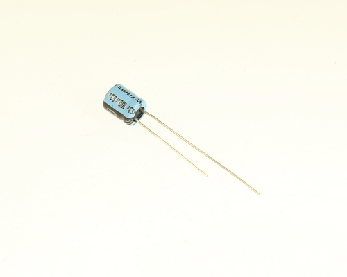 Picture of VTM100M6 MALLORY capacitor 100uF 6.3V Aluminum Electrolytic Radial