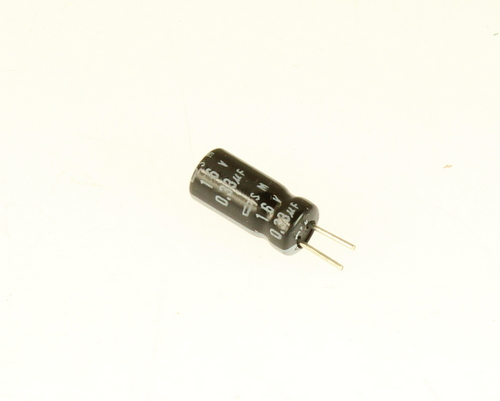 Picture of SM16VB334M5X11 capacitor 0.33uF 16V Aluminum Electrolytic Radial