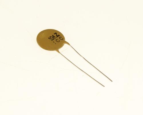 Picture of CD104Z50V.5 INTERNATIONAL capacitor 0.1uF 50V Ceramic Disc