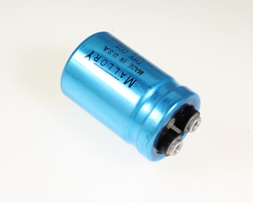 Picture of CGS121T300R2C3PH MALLORY capacitor 120uF 300V Aluminum Electrolytic Large Can Computer Grade
