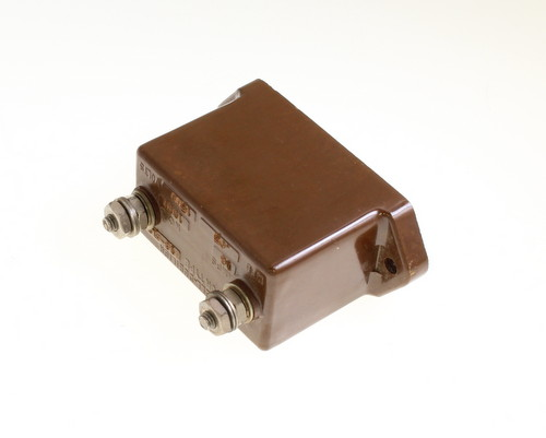 Picture of CM70B503JM1 Cornell Dubilier (CDE) capacitor 0.05uF 1500V Silver Mica Transmitting