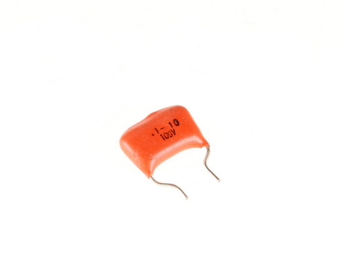 Picture of RM104K100V3 IEC capacitor 0.1uF 100V Film Radial