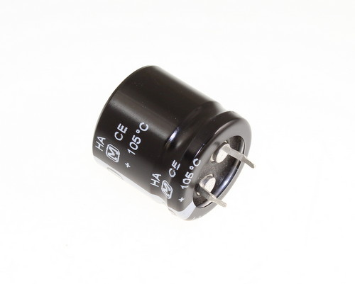 Picture of ECOS1EA382CA PANASONIC capacitor 6,800uF 25V Aluminum Electrolytic Snap In High Temp