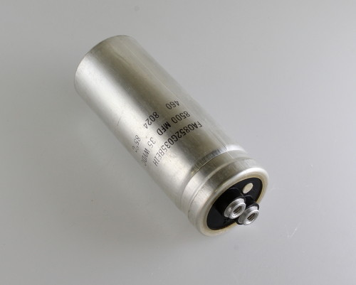 Picture of FAO852G035BE1H byab capacitor 8,500uF 35V Aluminum Electrolytic Large Can Computer Grade