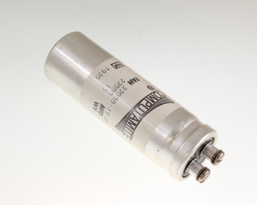 Picture of FAH22000-15-A3 Cornell Dubilier (CDE) capacitor 22,000uF 15V Aluminum Electrolytic Large Can Computer Grade