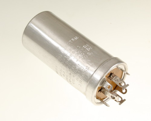 Picture of 43F7566BB1 General Electric capacitor 1,000uF 35V Aluminum Electrolytic Large Can Twist Lock