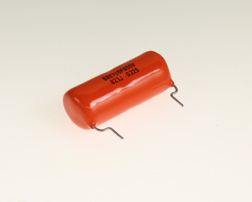 Picture of 715P82358LC VISHAY / SPRAGUE capacitor 0.082uF 800V Film POLYPROPYLENE Radial