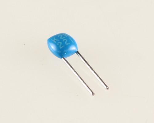 Picture of C320C221K2G5CA KEMET capacitor 220pF 200V Ceramic MONOLITHIC Radial