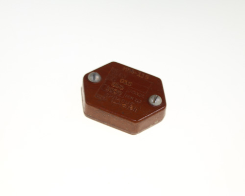 Picture of 7FM-115 SPRAGUE capacitor 0.015uF 600V silver mica transmitting