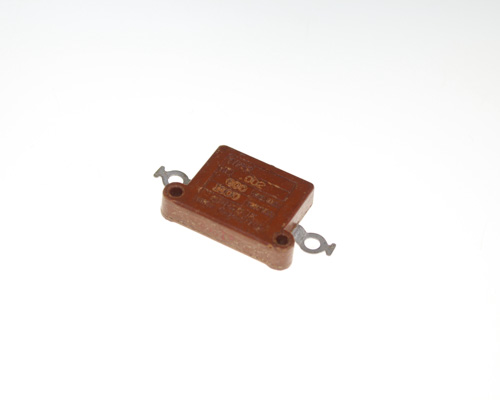 Picture of TYPE-12-202 SPRAGUE capacitor 0.002uF 600V silver mica transmitting