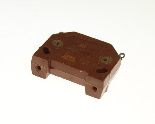 Picture of NF-01 Faradon capacitor 0.01uF 1200V silver mica transmitting