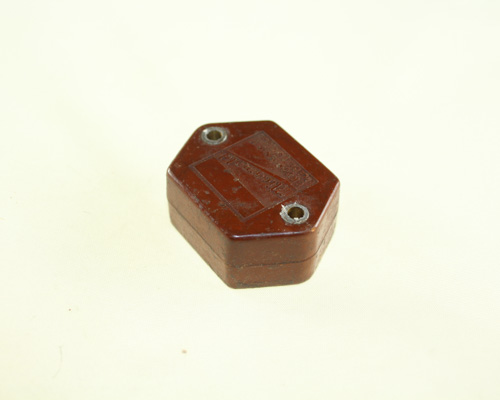 Picture of 2HS-1 MICAMOLD capacitor 500pF 1800V silver mica transmitting