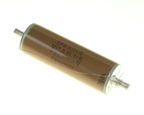 Picture of 205P113 SPRAGUE capacitor 0.01uF 7500V glass axial