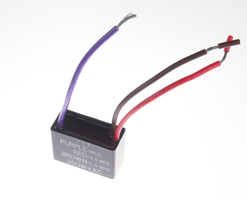 Picture of TC3R5M250V TCI capacitor 3.5uF 250V application motor run