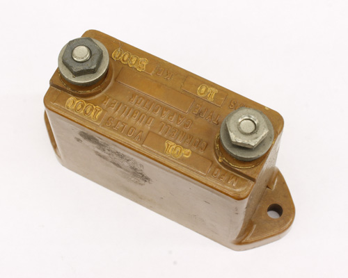 Picture of CM65B103J CDE capacitor 0.01uF 1000V silver mica transmitting