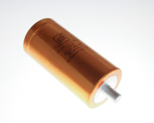 Picture of EYM02HJ510I VISHAY / ROEDERSTEIN capacitor 10,000uF 100V aluminum electrolytic large can computer grade