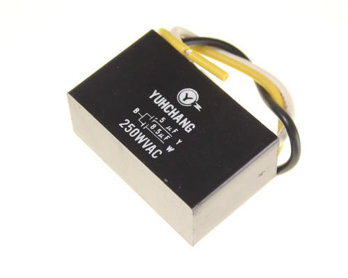 Picture of SCA8R5K250V Yuhchang capacitor 8.5uF 250V application motor run