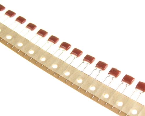Picture of RM563K100V.2 BYAB capacitor 0.056uF 100V film metallized polyester radial