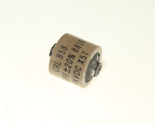 Picture of 858S-500 PHILIPS-CRL capacitor 500pF 5000V ceramic transmitting