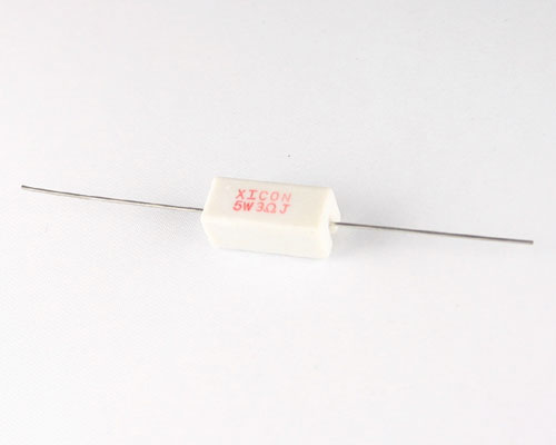 Picture of CR5-3.0 XICON resistor 3 Ohm 5W 5% Sand Stone