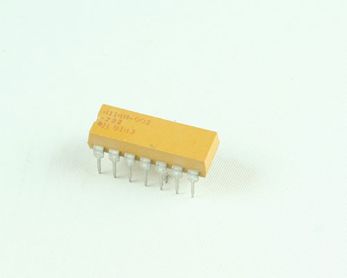 Picture of 4114R-002-222 BOURNS resistor 2.2 kOhm 2%  Network