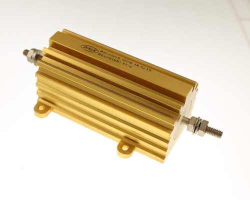 Picture of RE80G19R1 DALE resistor 19.1 Ohm 120W 1% Aluminum Housed