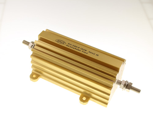 Picture of RE80GR866 DALE resistor 0.866 Ohm 120W 1% Aluminum Housed