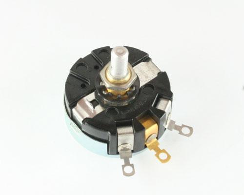 Picture of 06-115921-019 CLAROSTAT potentiometer 1 kOhm, 4W Rotary RA30NASD Series